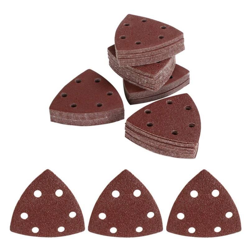 10 St Schleifdreiecke Dreieck Schleifpapier Schleifscheiben für Deltaschleifer