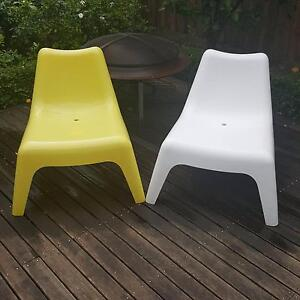 Ikea Outdoor Casual Lounge Chairs Armadale Stonnington Area Preview
