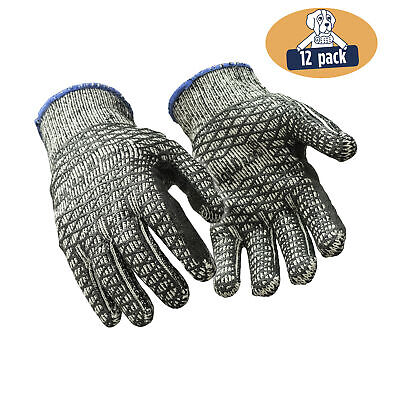 Refrigiwear Glacier Grip Gloves With Double Sided Pvc Honeycomb Grip 12 Pairs