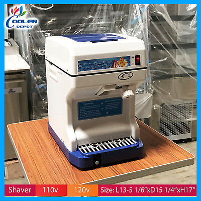 Cooler Snow Cone Machine - Commercial Ice cube Shaver Shaved Ice Machine Shaver Snow Cone Cooler Depot New