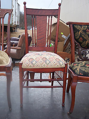 Spindle Back Cherry - Cherry Spindle Back Parlor Chair / Sidechair  (SC162)