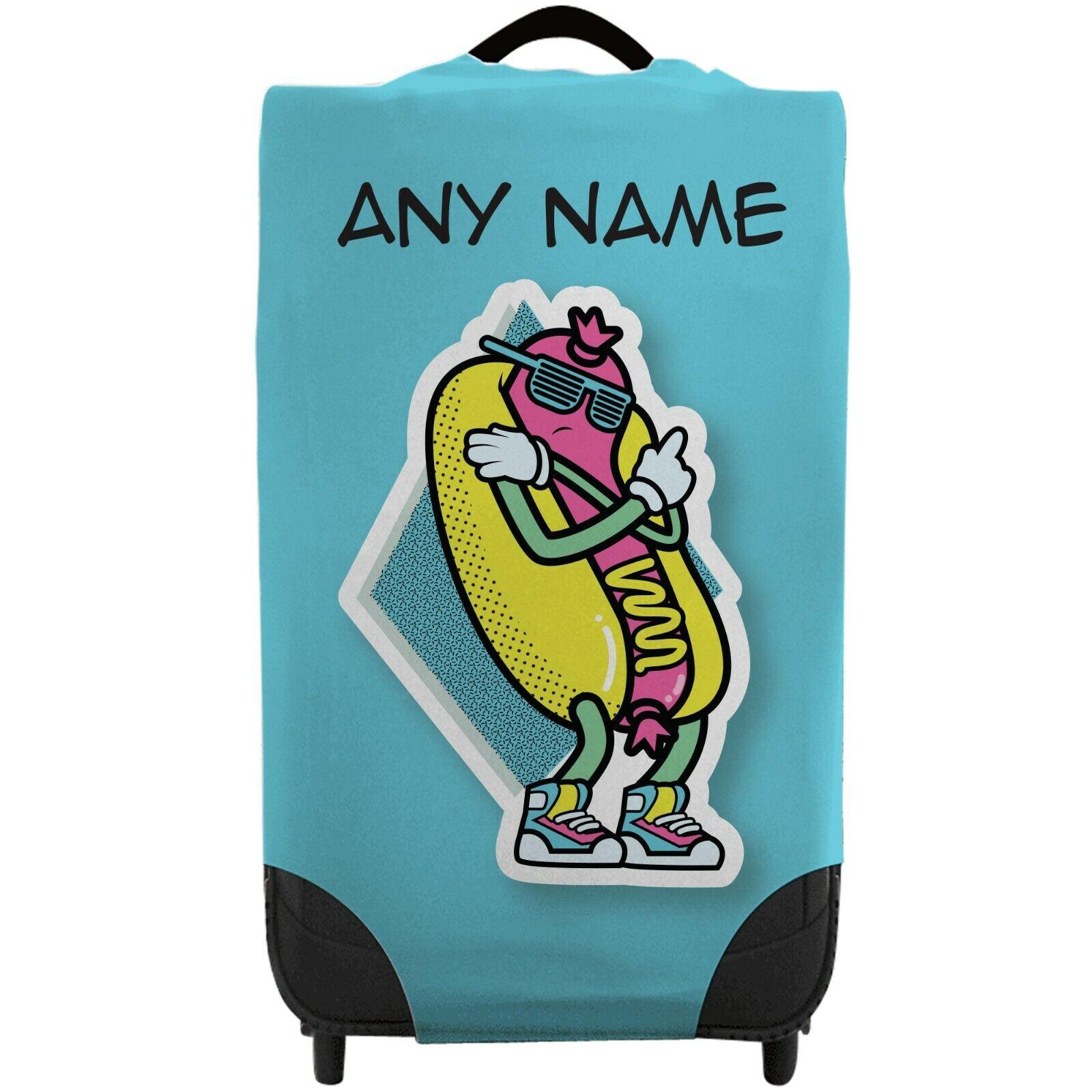personalised kid s cool hotdog caseskinz suitcase