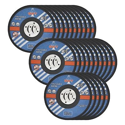 25 Pack Ultra Thin Disc 4-12 X 0.045 Metal Stainless Steel Cut Off Wheel