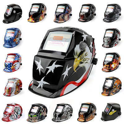 Solar Auto Darkening Welding Helmet Arc Tig Mig Mask Grinding Welder Mask Py