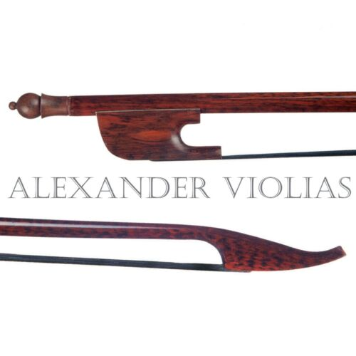 QUALITY SNAKEWOOD BAROQUE VIOLA BOW HAND MADE WELL BALANCED US SELLER!