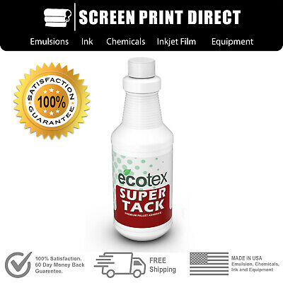 Ecotex Super Tack - Premium Pallet Adhesive For Screen Printing - Pint 16oz