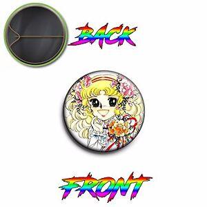 Pins-Pin-Spilla-2-5-cm-25-mm-Candy-Candy-6-Cartoni-Animati-anni-80-Vintage