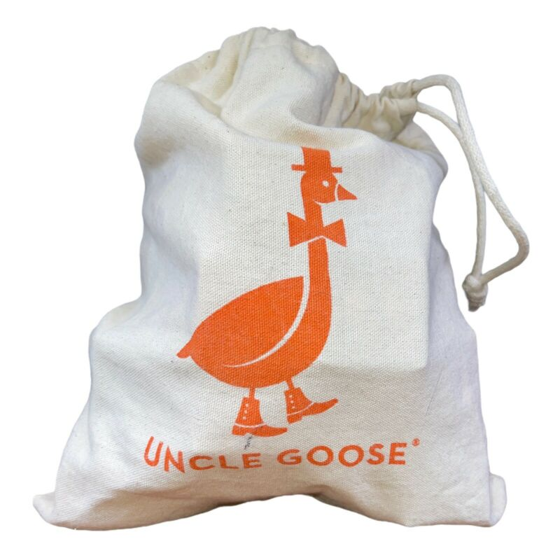 Uncle Goose 28 Blocks With Canvas Bag