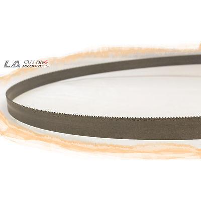 120 10 X 1 X .035 X 1014n Band Saw Blade M42 Bi-metal 3 Pcs