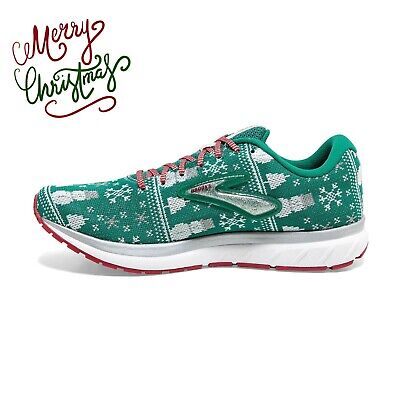 New Brooks Revel 3 Women's Ugly Christmas Sweater Running Shoes Size 8 .5 Tree