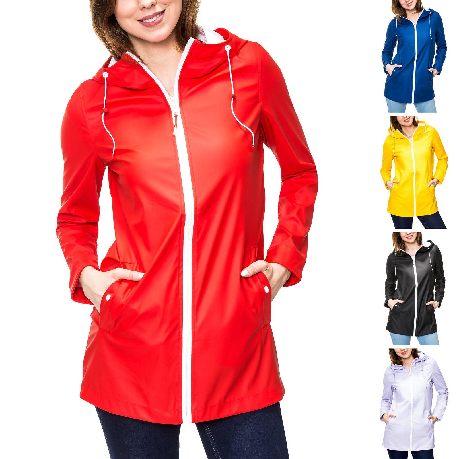 Only Damen Regenjacke Übergangsjacke Outdoor Jacke Regenmantel Color Mix NEU