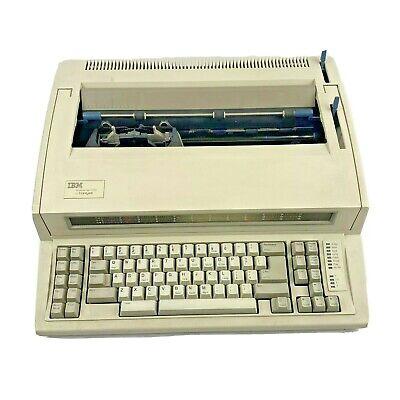 Typewriters Word Processors Ibm Lexmark Wheelwriter