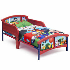 Delta Children Disney Mickey Mouse Plastic Toddler Bed ...