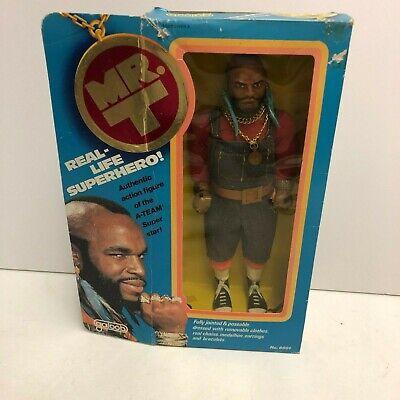 "Vintage 1983 MR. T A-Team TV Show 12""  Doll GALOOB 12"" Action Figure A Team"