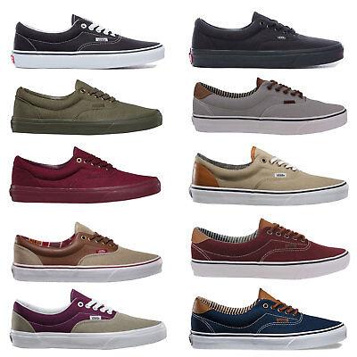 Vans Era Herren-Skateschuhe Sneaker Halbschuhe Herrenschuhe Schuhe Turnschuhe Skate Sneaker Schuhe