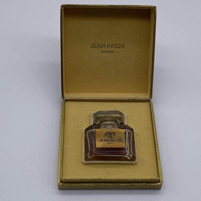 Vintage Jean Patou Joy Baccarat Perfume Bottle/Box 1/2 OZ - 1/2 Full