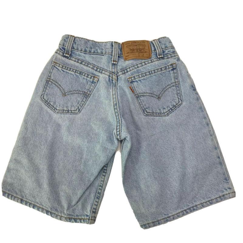 Vintage Little Levis Orange Tab 562 Jean Shorts Jorts (Unisex/Girls/Boys)Size 8