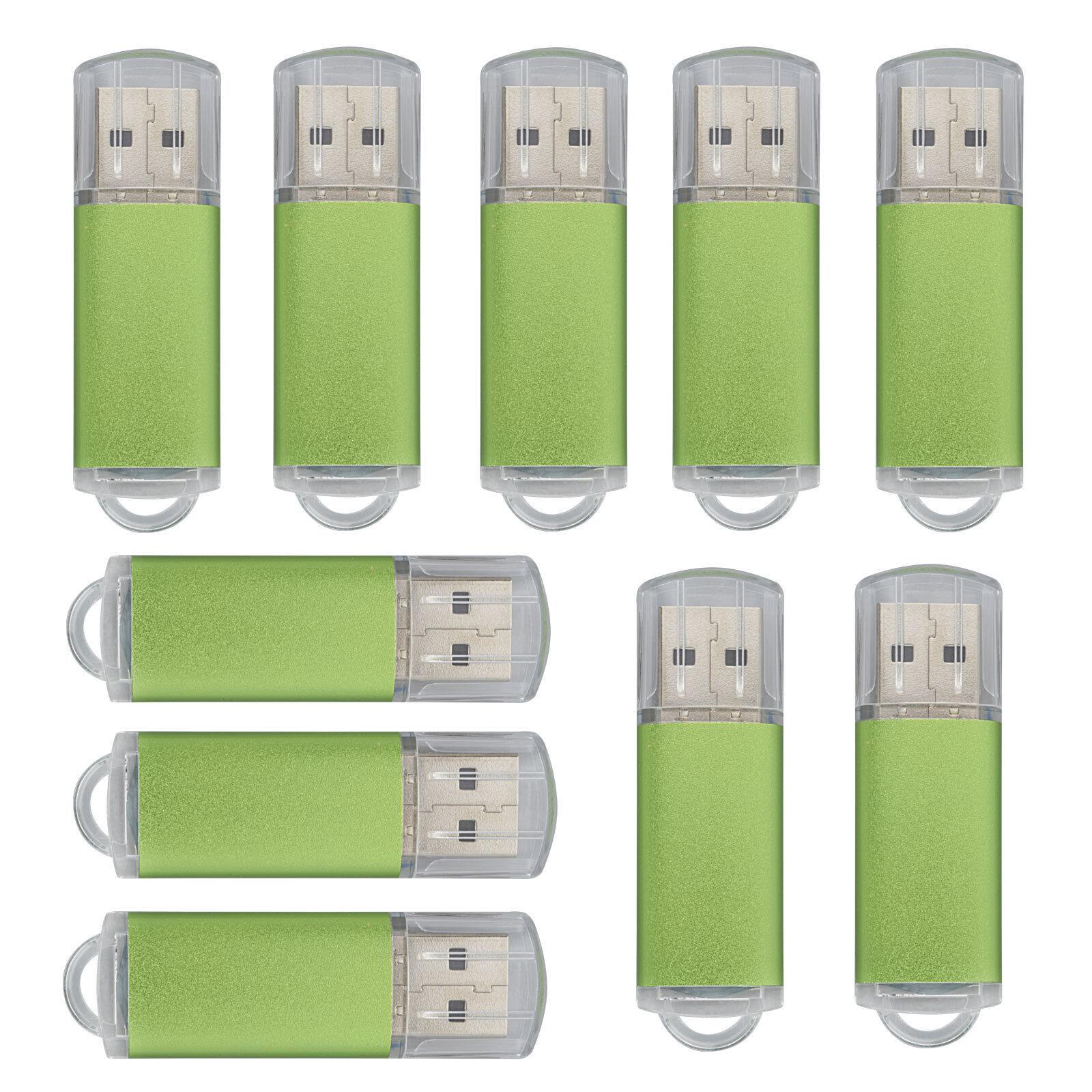 50PCS//LOT 4GB USB 2.0 Flash Drive Rectangle Thumb Pen Drives Flash Memory Sticks