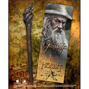 The Hobbit Gandalf Bookmark And Staff Pen Lord Of The Rings Gift Brand New