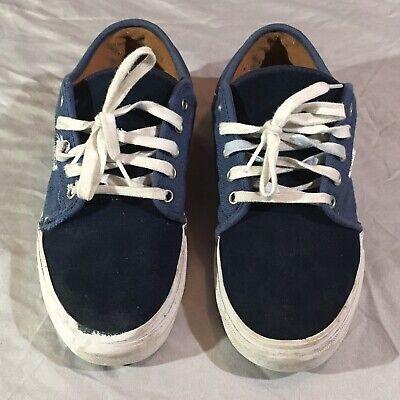 Vans UltraCush Pro Classic Skate Shoes Size 9 Lightly Skated Navy Blue White