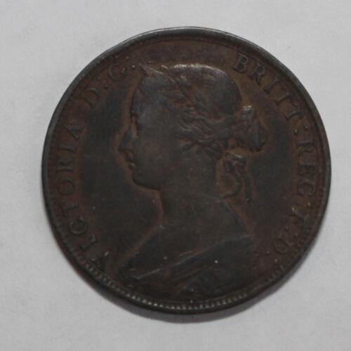 1862 Great Britain Half Penny