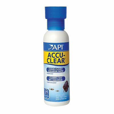 API ACCU-CLEAR Freshwater Aquarium Water Clarifier 4-Ounce Bottle