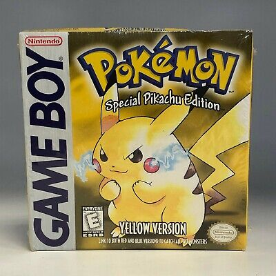 Pokemon Yellow Version Special Pikachu Edition Factory Sealed w/ H/Seam Intact