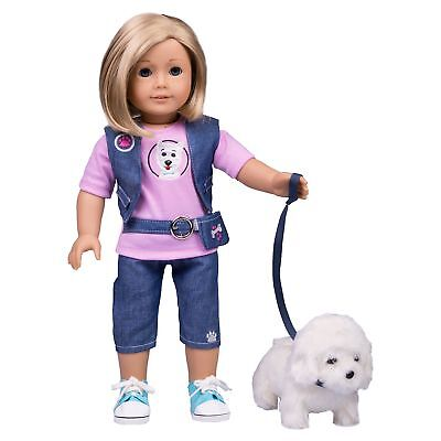 Dog Walker Inspired Doll Clothes American Girl Inspired Outfit (Includes T