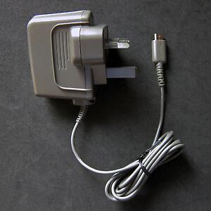 new genuine official original nintendo ds lite charger ac power adapter nds uk ebay. Black Bedroom Furniture Sets. Home Design Ideas