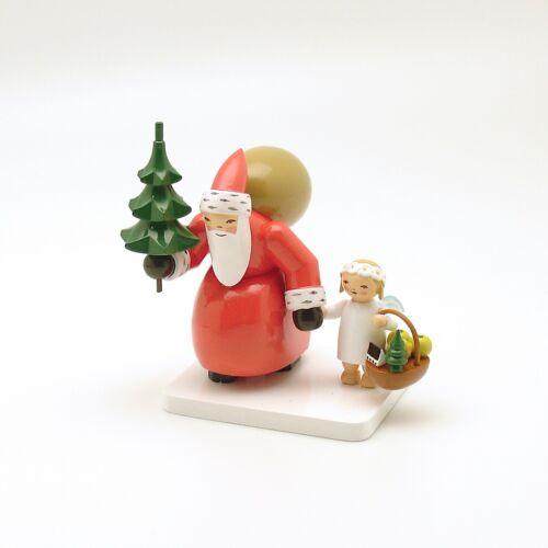 Wood Christmas Decoration Santa Angel Wendt & Kuhn Germany