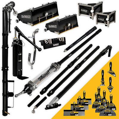Dewalt Drywall Taping Tools Pro Mega Automatic Tapingfinishing Set W Mudshot