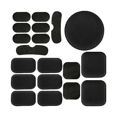19Pcs Universal Airsoft Helmet Pads, Tactical Helmet Replacement Foam Padding...