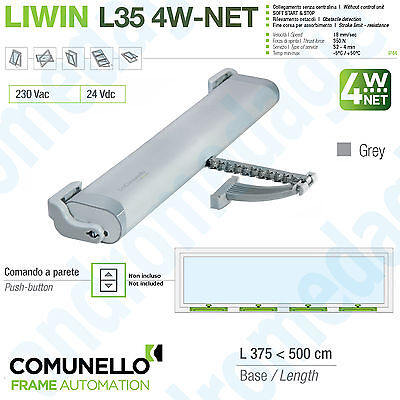 LIWIN L35 4W-NET 230V 350N GREY Synchronized motors chain for windows