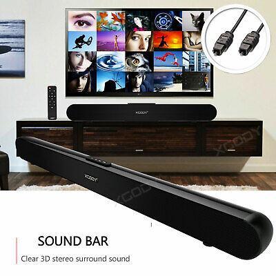 40W Home 3D Surround TV Soundbar Drahtlose Soundbar mit integriertem Subwoofer