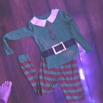 Kids Elf Pajamas (Crazy8 Elf kids Holiday pajamas)