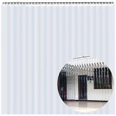 Pvc Strip Curtain Door Industrial Vinyl Door Strips 6 X 7 For Race Trailer Rv