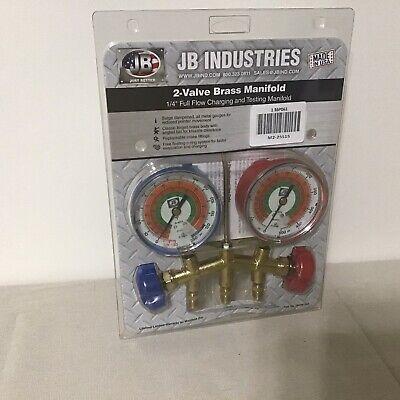 Jb Industries M2-25515 Manifold Gauge 2-valve Number Of Hoses 0