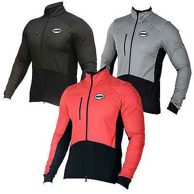 SHADOW WINDPROOF MENS CYCLE JACKET Cycling Jersey Winter Thermal (AA)