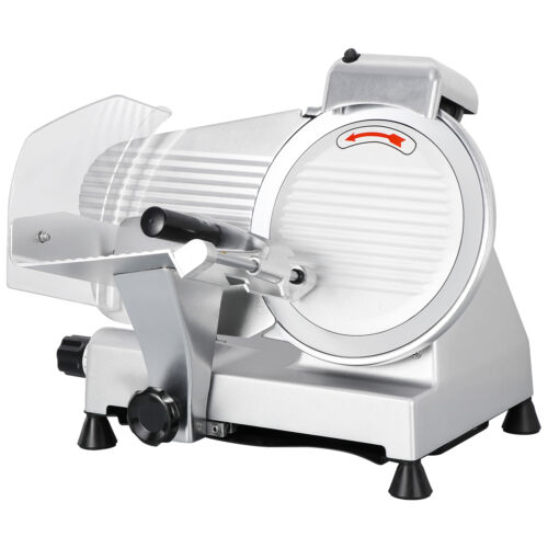 Premium 10″ Blade Commercial Deli Meat Cheese Food Electric Slicer Chef's Choice Business & Industrial