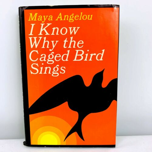 I Know Why the Caged Bird Sings Maya Angelou Signed First Edition First Print VG