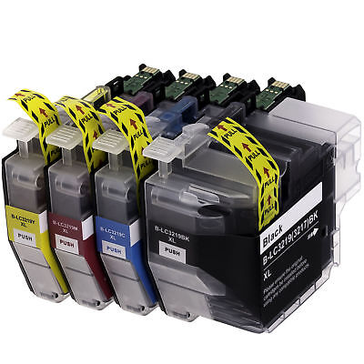 4 ink cartridges for Brother MFC-J5330 MFC-J5335 MFC-J5730 (LC3217 / LC3219XL)