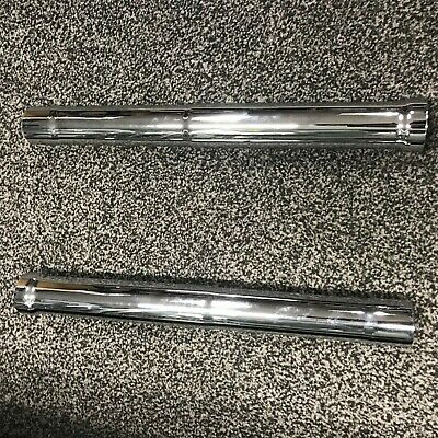 2006-2018 Suzuki M109 OEM UPPER FORK LEGS CHROME EXCHANGE M109 M109R
