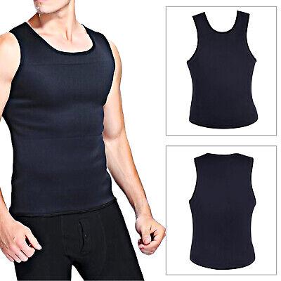 Men's Gym Training Tops Fitness Sauna Vest Sweat Shirt Redu Fat Body Shaper
