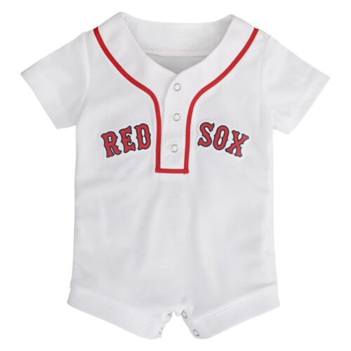 Boston Red Sox Baby Infant Baseball Jersey One-Piece Romper