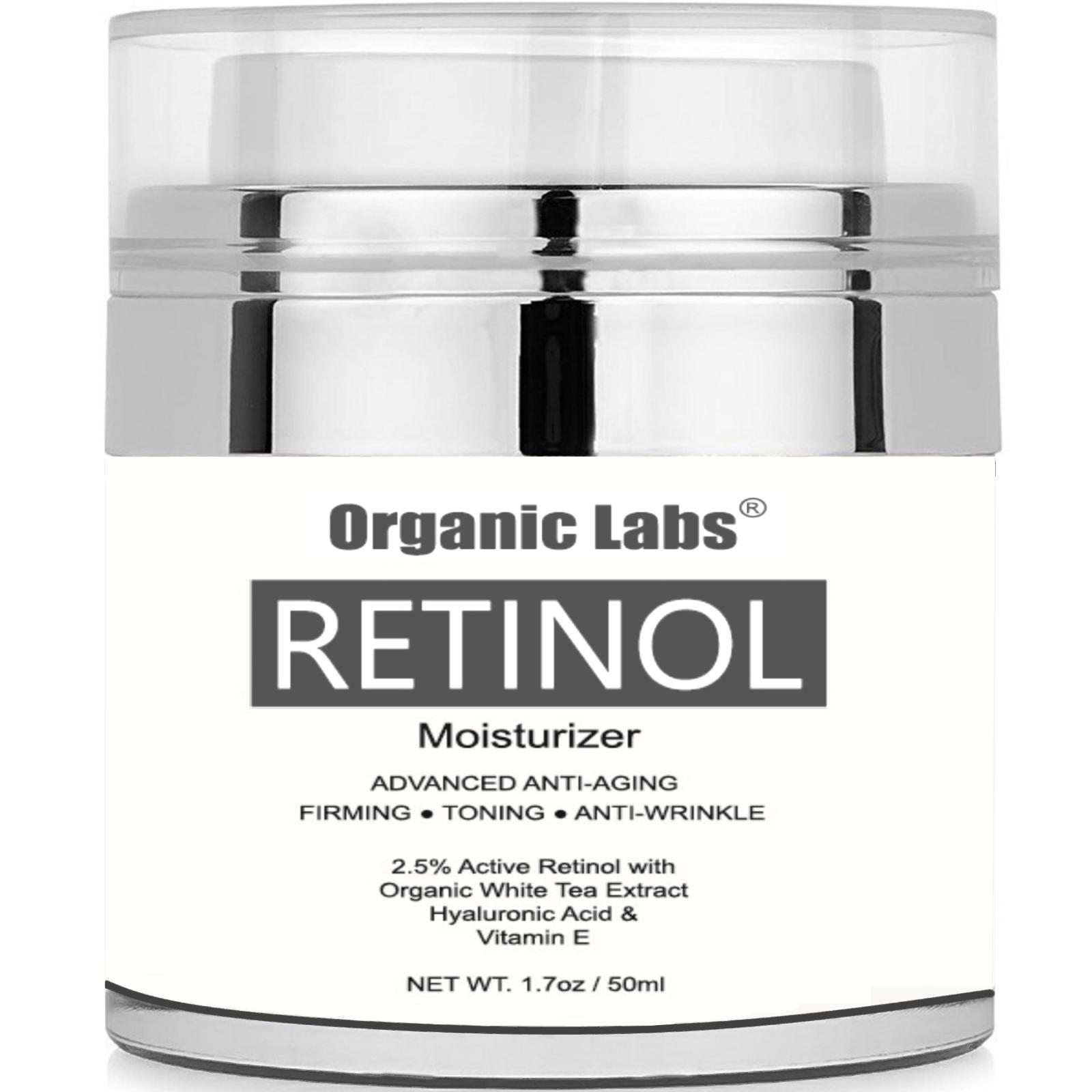 Retinol Moisturizer Skincare Cream Organic White Tea Shea Jo