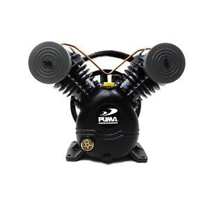 Puma 2 Cylinder 1 Single Stage Cast Iron Air Compressor Pump 15 SCFM