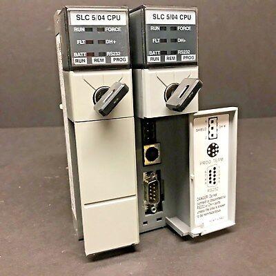 Allen Bradley 1747-l542 Ser C 1747-os401 Slc 500 504 504 Cpu Processor Unit 32k