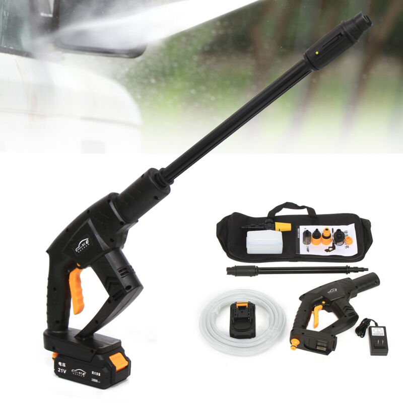 Wireless High Pressure Water Sprayer Gun Cleaning Tool Car Garden Washing Tool