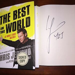 Chris jericho book best in the world review websites