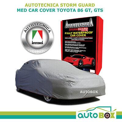 Car Cover Sedan Stormguard Waterproof Plush Fleece Toyota 86 GT GTS to 4.25M